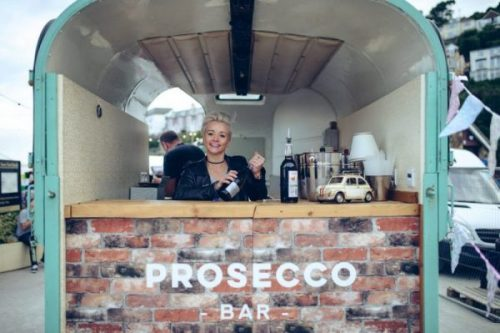 Prosecco bar, Gin palace event bar, event bar hire
